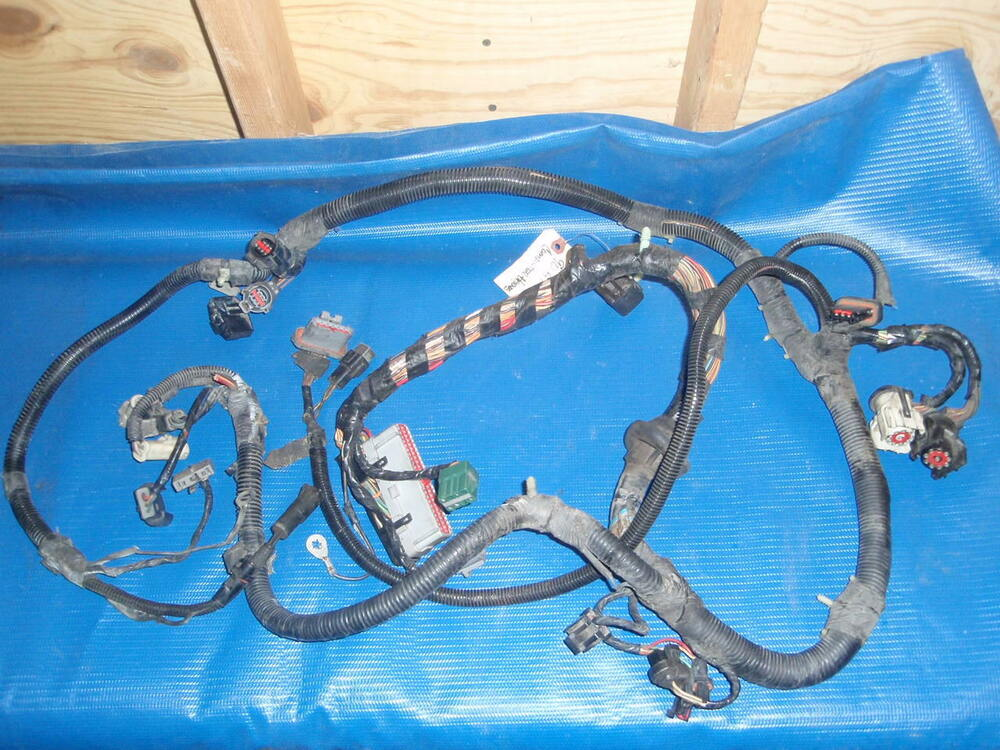 1990 Ford Mustang Computer Engine Wiring Harness V8 MAF