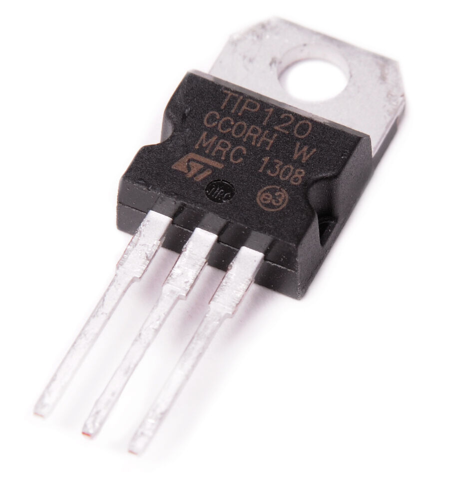 5x Tip120 Npn Bjt St Darlington Transistor To 220 For Arduino With Diode Protection Circuits Tutorial Diodes Hobby Free 707077093194 Ebay