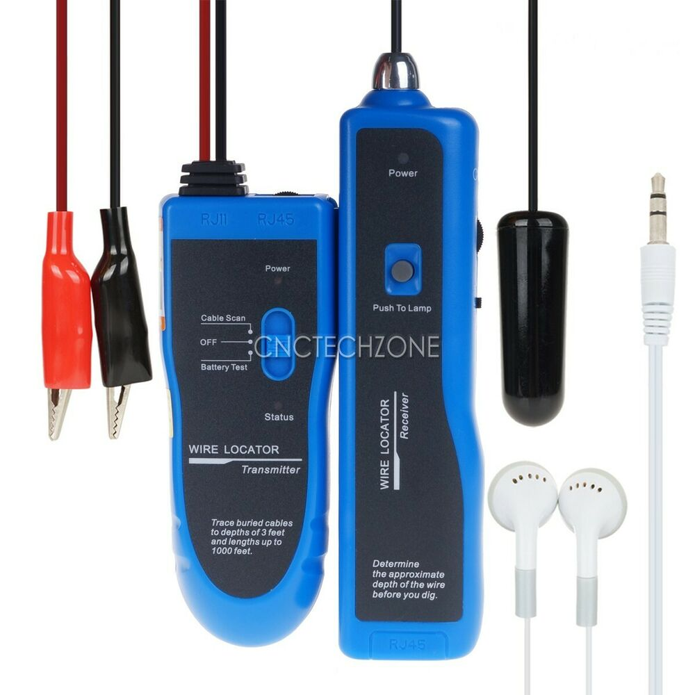 New Underground Cable Wire Locator Wire Finder Easily