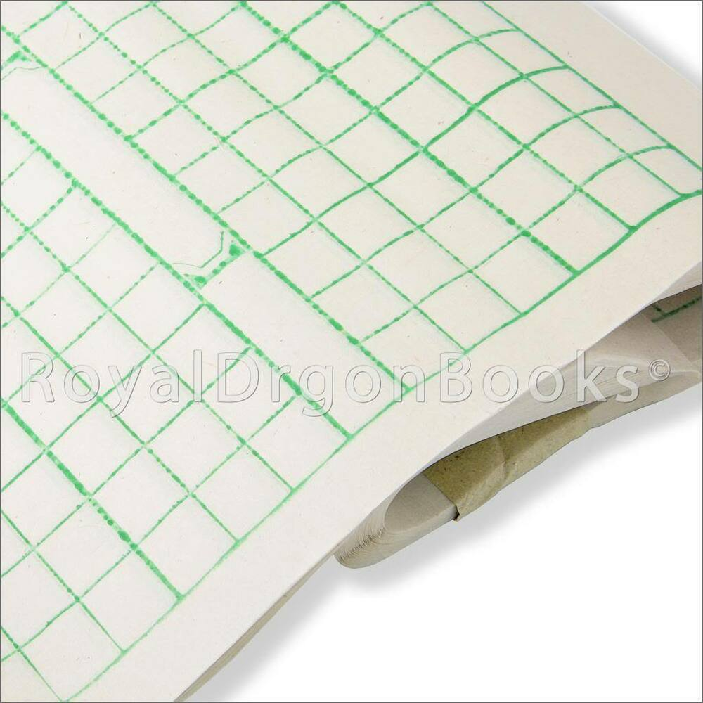 Grid Yukou Chinese Calligraphy Rice Paper