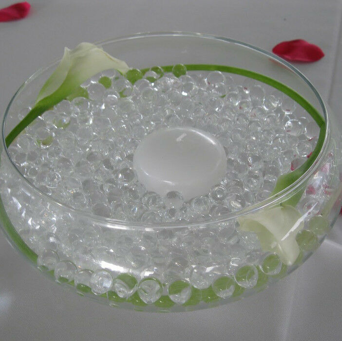 Water Wedding Centerpiece Ideas: Bulk 8oz Clear Deco Beads Water Storing Crystals Pearls
