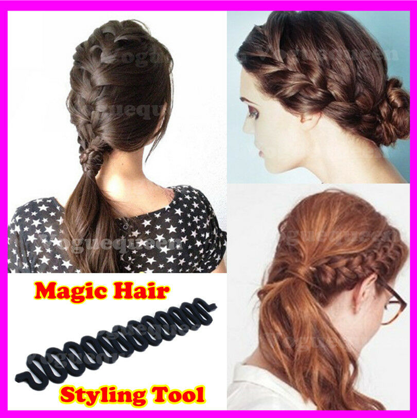 hair style tool sports braider braids twist centipede holder magic 2654 | s l1000