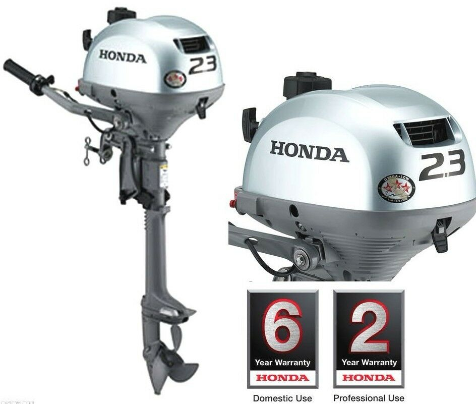 Honda Bf2 3 Short Shaft Outboard Motor Engine New Model Ebay