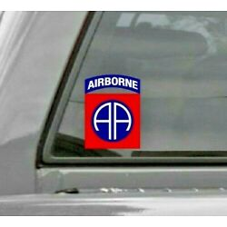 82nd Airborne Division All American Car Vinyl Window Decal/Sticker