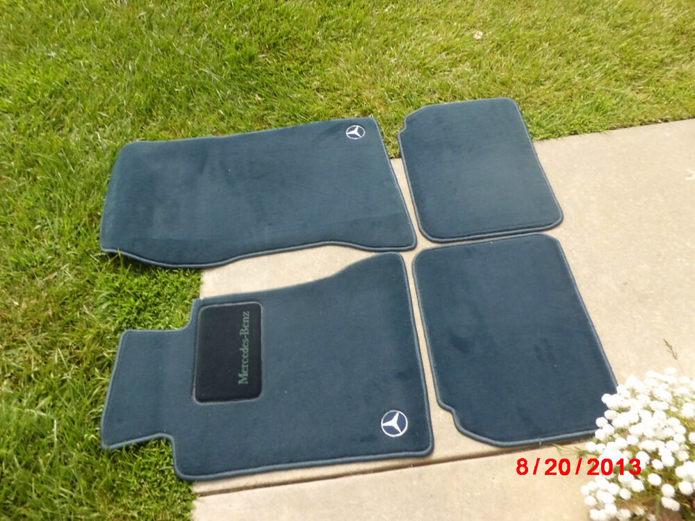 1988 1995 mercedes benz w124 floor mat mats e320 300e for Mercedes benz e350 floor mats