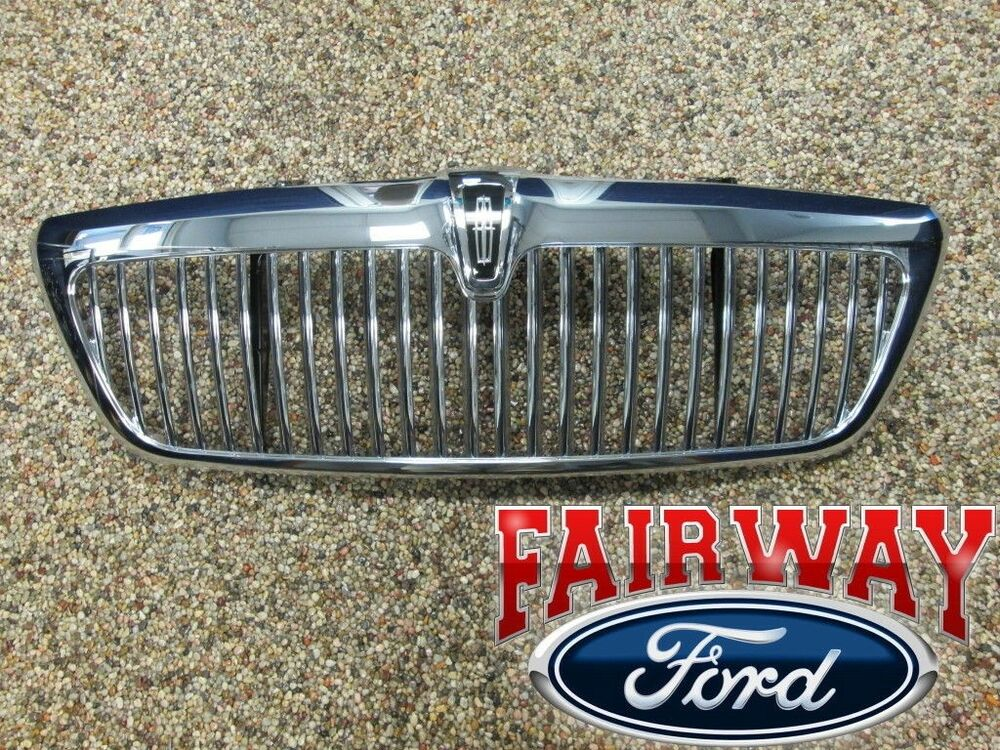 2005 Lincoln Aviator OEM Genuine Ford Parts Chrome Grill ...