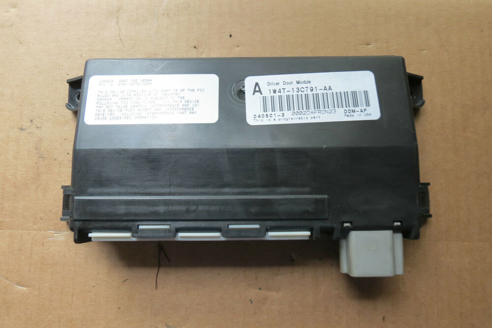 2000 01 02 jaguar s type lincoln ls driver door control for 01333 door control module