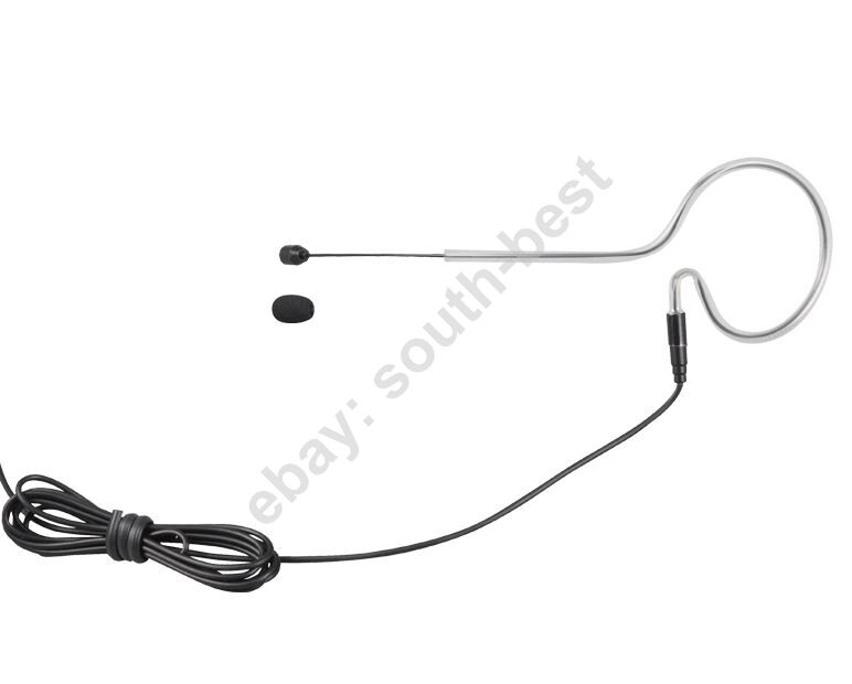 single ear black headset microphone for sennheiser shure akg audio technica