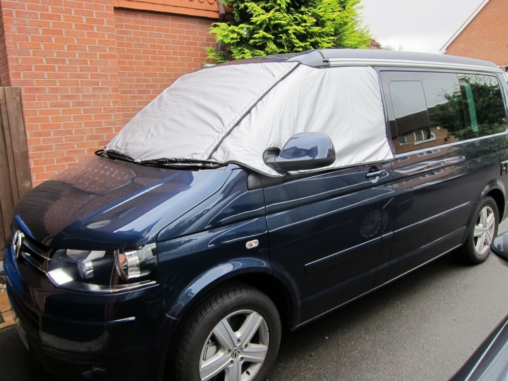 vw t5 california transporter caravelle thermal windscreen. Black Bedroom Furniture Sets. Home Design Ideas