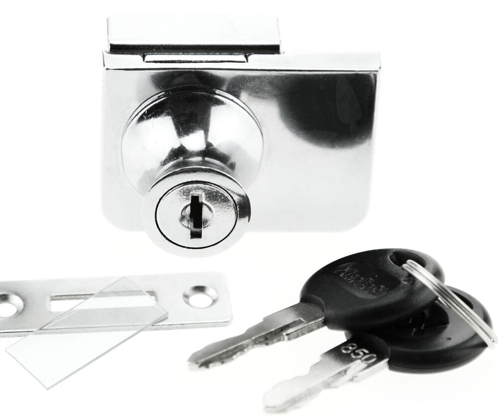 For Ikea Detolf Argos Glass Cabinet Lock Hinged Glass