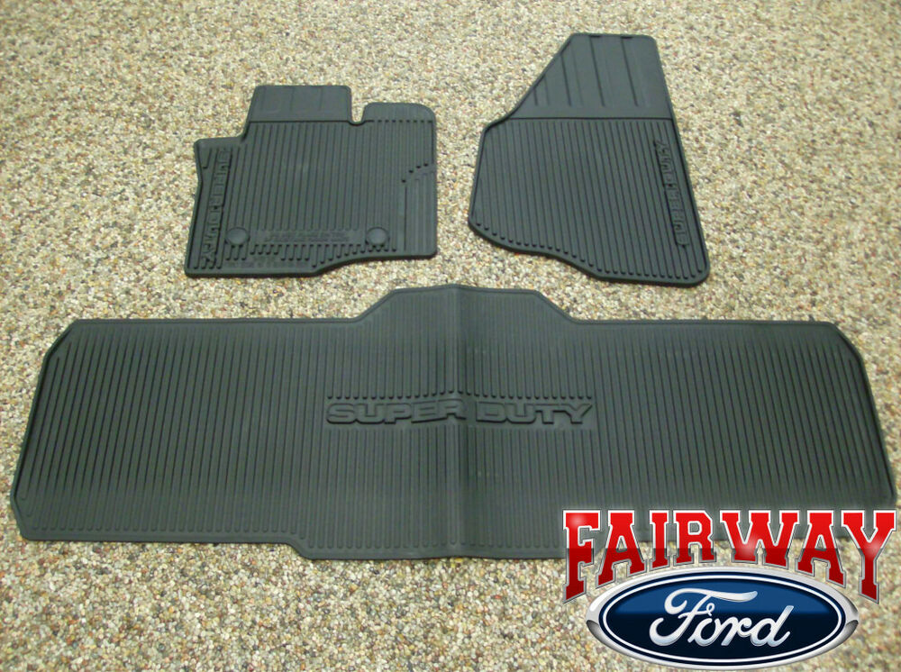 12 Thru 16 Super Duty F250 F350 Oem Genuine Ford Rubber