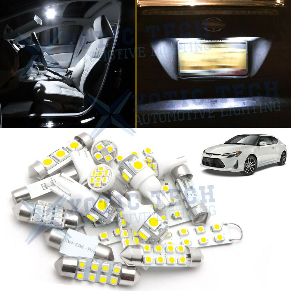 2005 2016 6 Light Led Full Interior Lights Package Deal For Scion Tc Trd Ebay