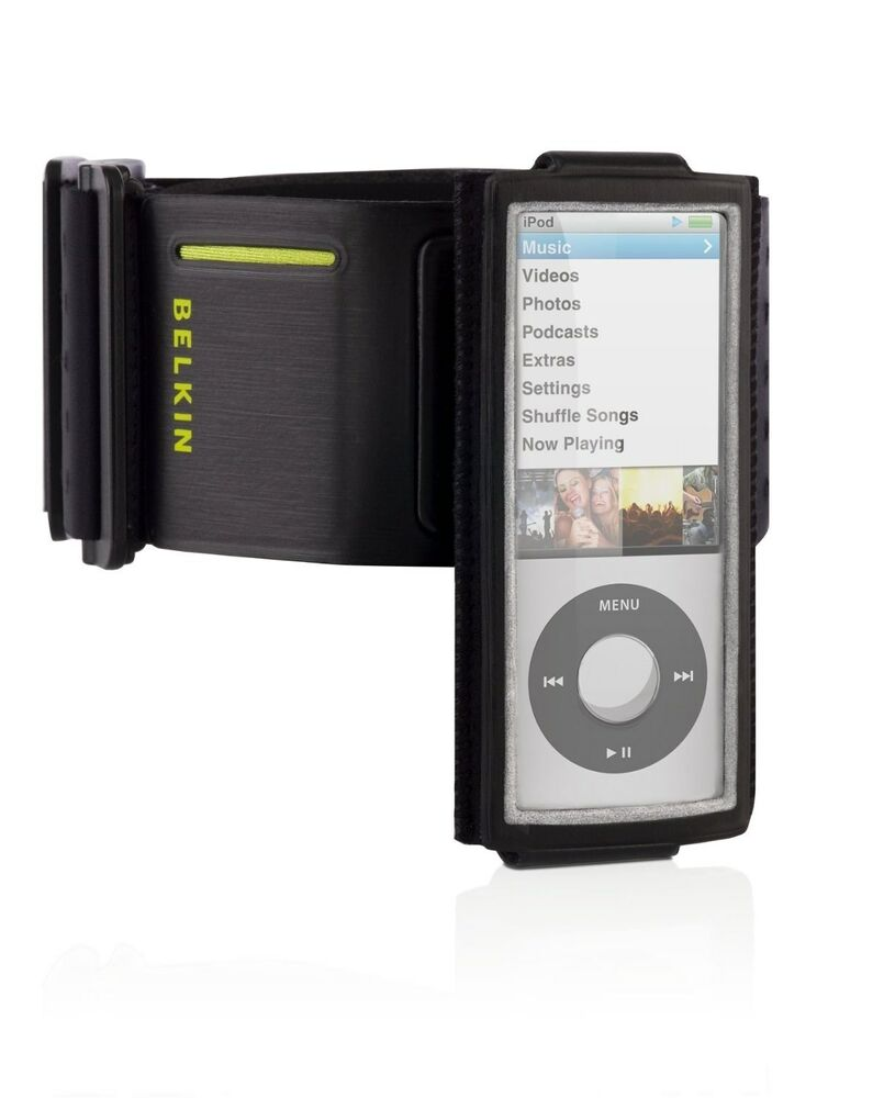 belkin sport running armband case for apple ipod nano 5th. Black Bedroom Furniture Sets. Home Design Ideas