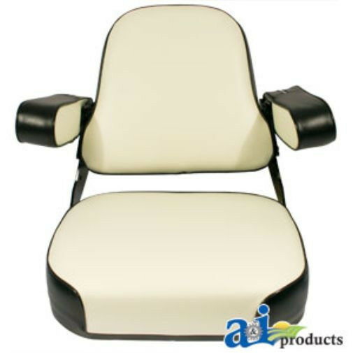 International 656 Seat : Case ih seat assembly black white fits