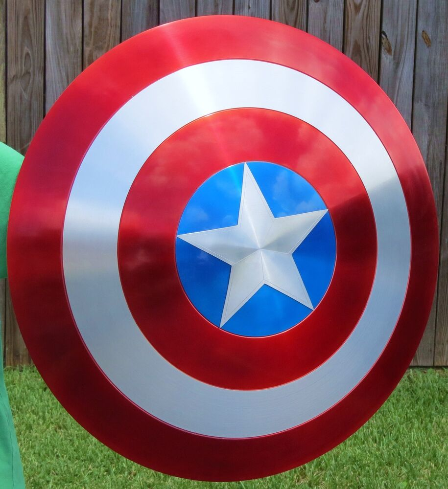 how to make captain america shield metal