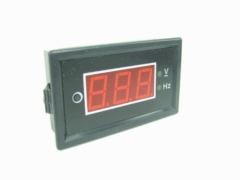 Hertz Frequency Meter : Ac in voltage frequency combo meter hz v