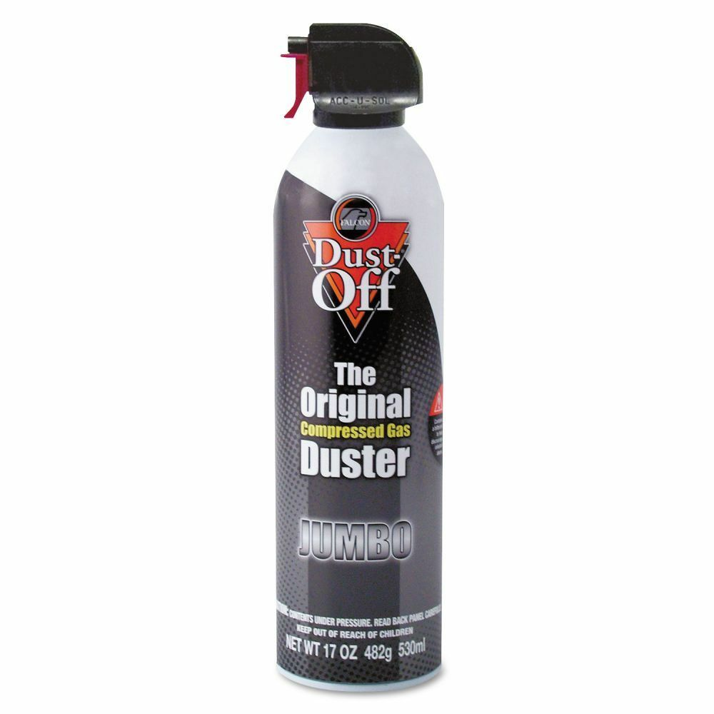 dust off canned air compressed gas electronics duster faldpsjmb ebay. Black Bedroom Furniture Sets. Home Design Ideas