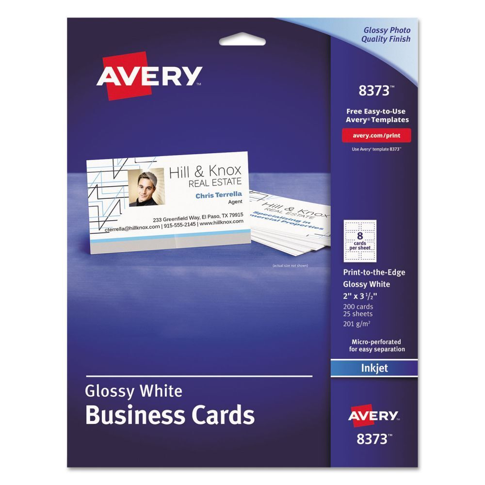 Avery Business Cards - AVE8373