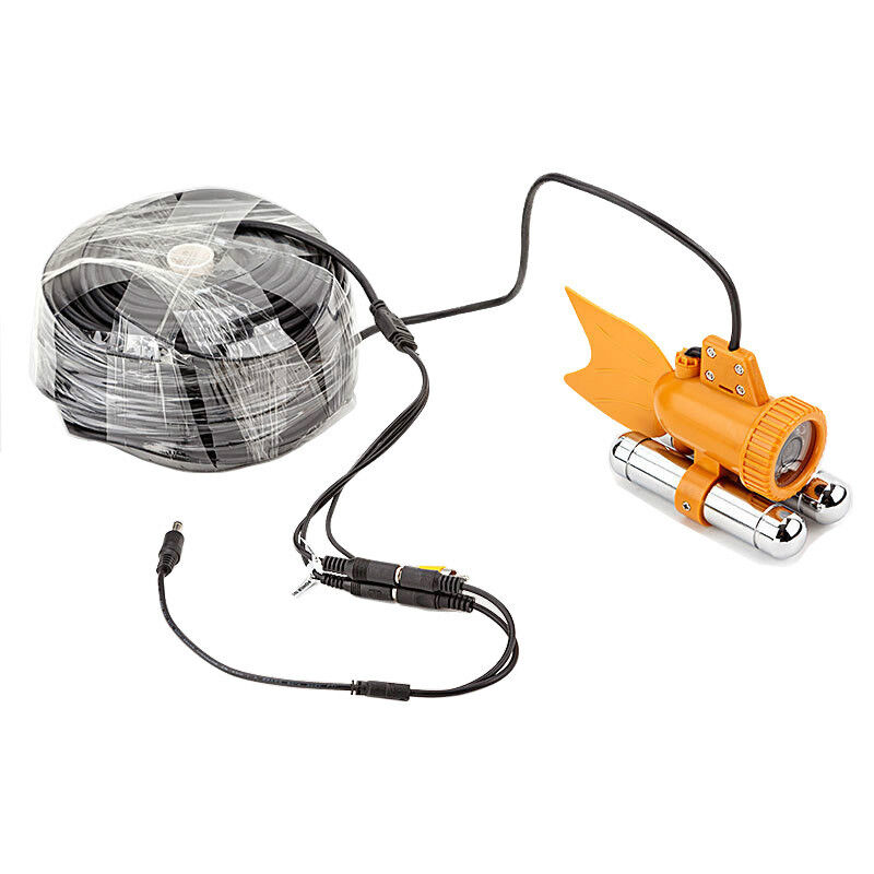 New 165ft Underwater Fishing Camera With 600TVL SONY CCD ...