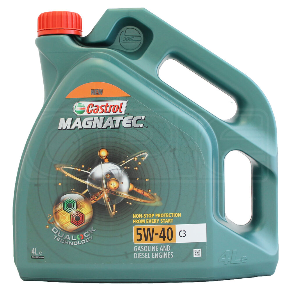 castrol magnatec 5w 40 c3 fully synthetic engine oil 5w40. Black Bedroom Furniture Sets. Home Design Ideas
