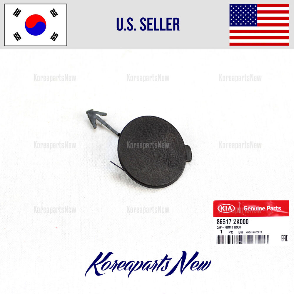 Kia Soul Accessories >> TOW EYE CAP FRONT BUMPER HOOK (GENUINE) 865172K000 KIA SOUL 2009-2011 | eBay