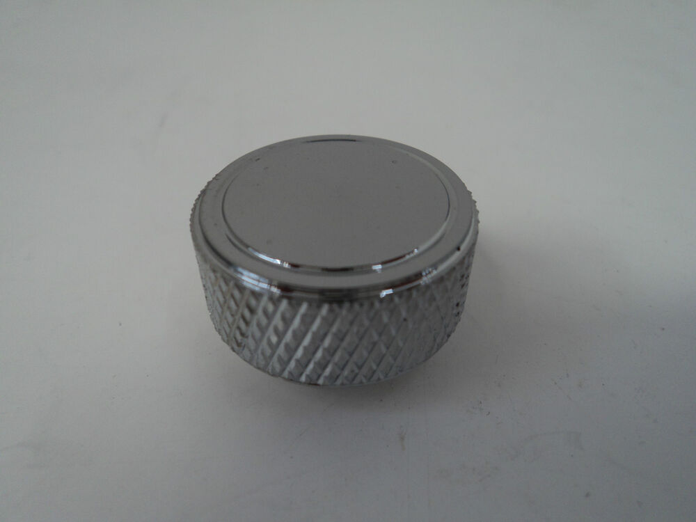 Air Cleaner Nut : Chrome knurled round air cleaner wing nut thread