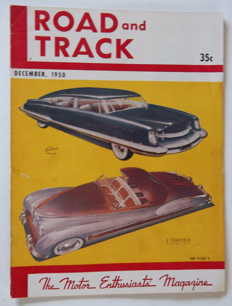 December 1950 Road And Track The Motor Enthusiast s