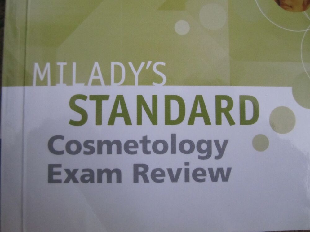 MILADY'S STANDARD COSMETOLOGY BOOK, Used, Published in 2008