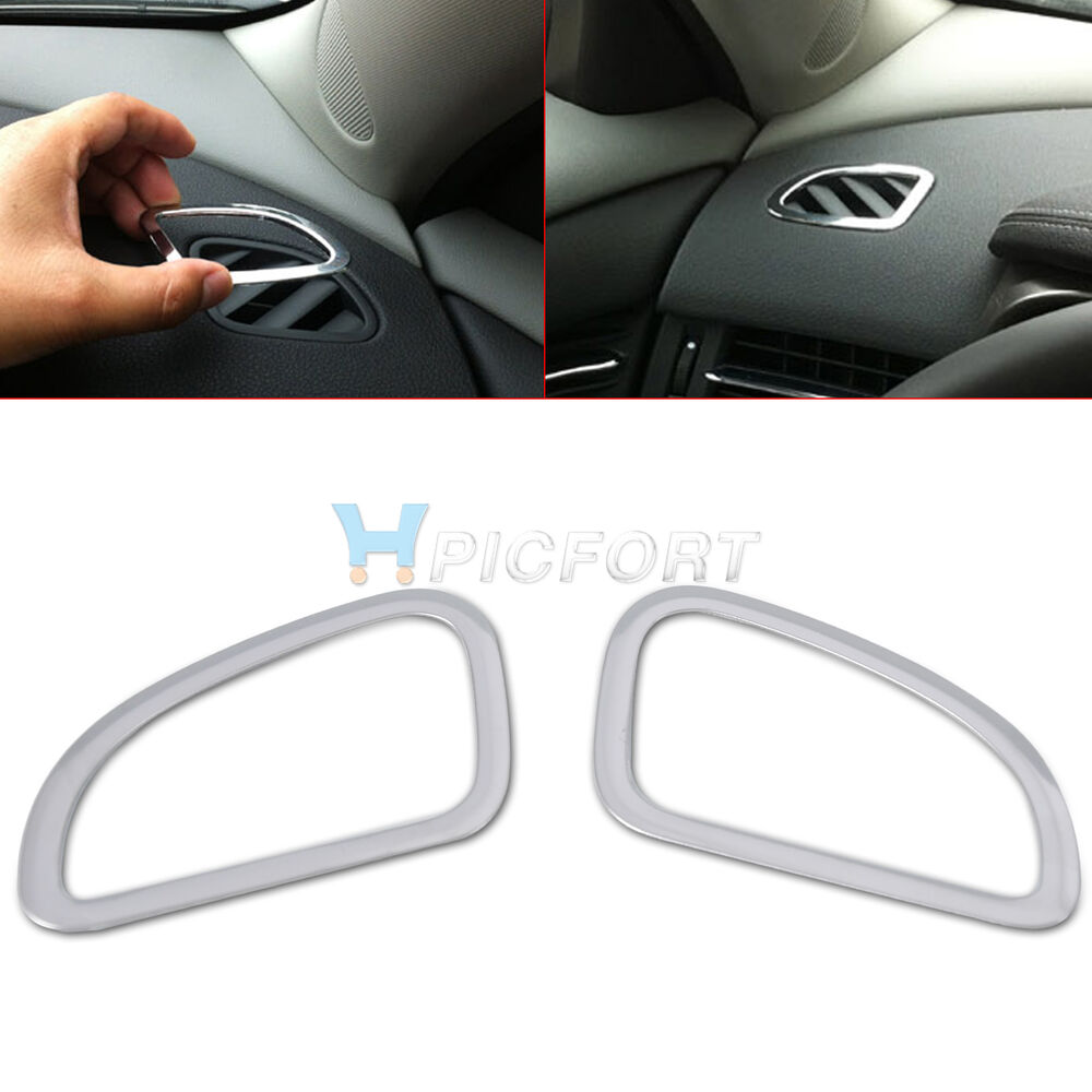car interior air conditioning vent outlet trim cover for chevrolet cruze 2009 ebay. Black Bedroom Furniture Sets. Home Design Ideas