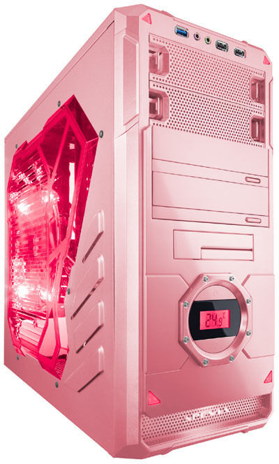 Pink 3 6ghz Amd A4 6300 Fm2 Gaming Pc Computer 4gb Ram