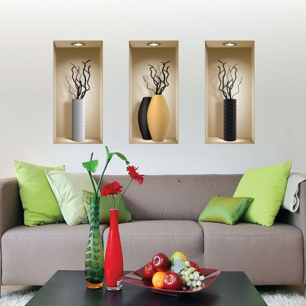 wall stickers 3d magic picture home decor tile decals kitchen ebay