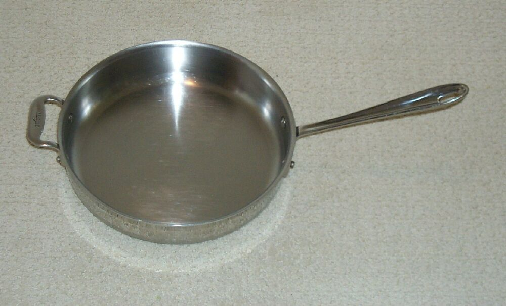 Mint All Clad Allclad 11 3 Quart Stainless Steel Saute