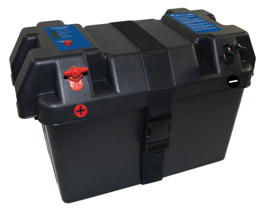 Smart Marine Battery Box Battery Case For Rv Outdoor