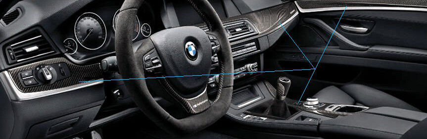 bmw f10 f11 5 series 2011 carbon fiber m performance interior trim kit for auto ebay. Black Bedroom Furniture Sets. Home Design Ideas