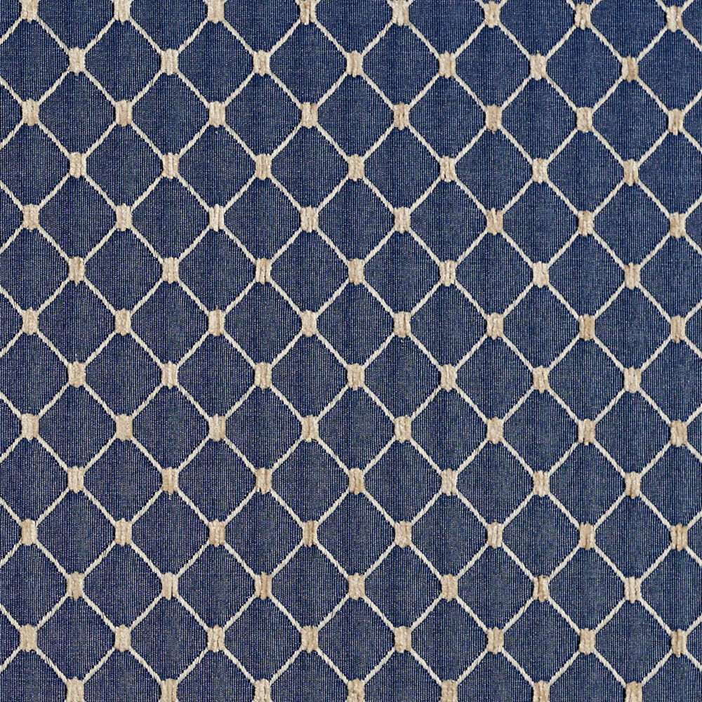 b645 navy blue diamond durable jacquard upholstery fabric by the yard ebay. Black Bedroom Furniture Sets. Home Design Ideas