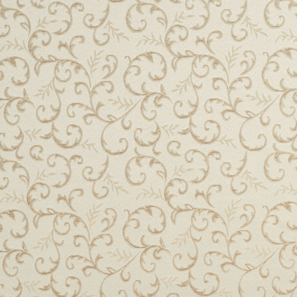 E642 abstract floral ivory silver damask upholstery fabric for Upholstery fabric