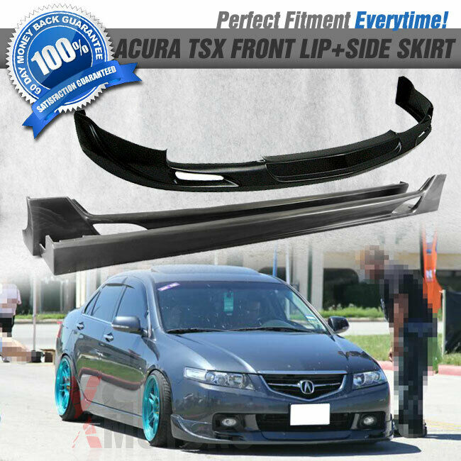04-05 Acura TSX MG Style Urethane Front Bumper Lip Spoiler