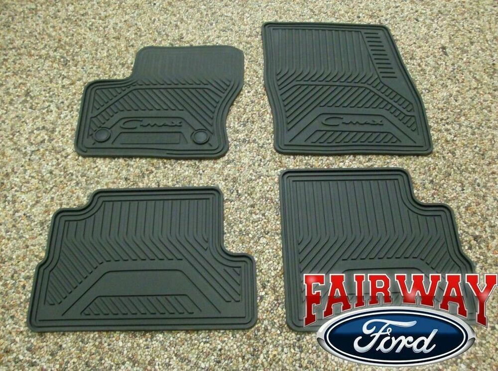 2013 Thru 2018 C Max Oem Genuine Ford Rubber All Weather
