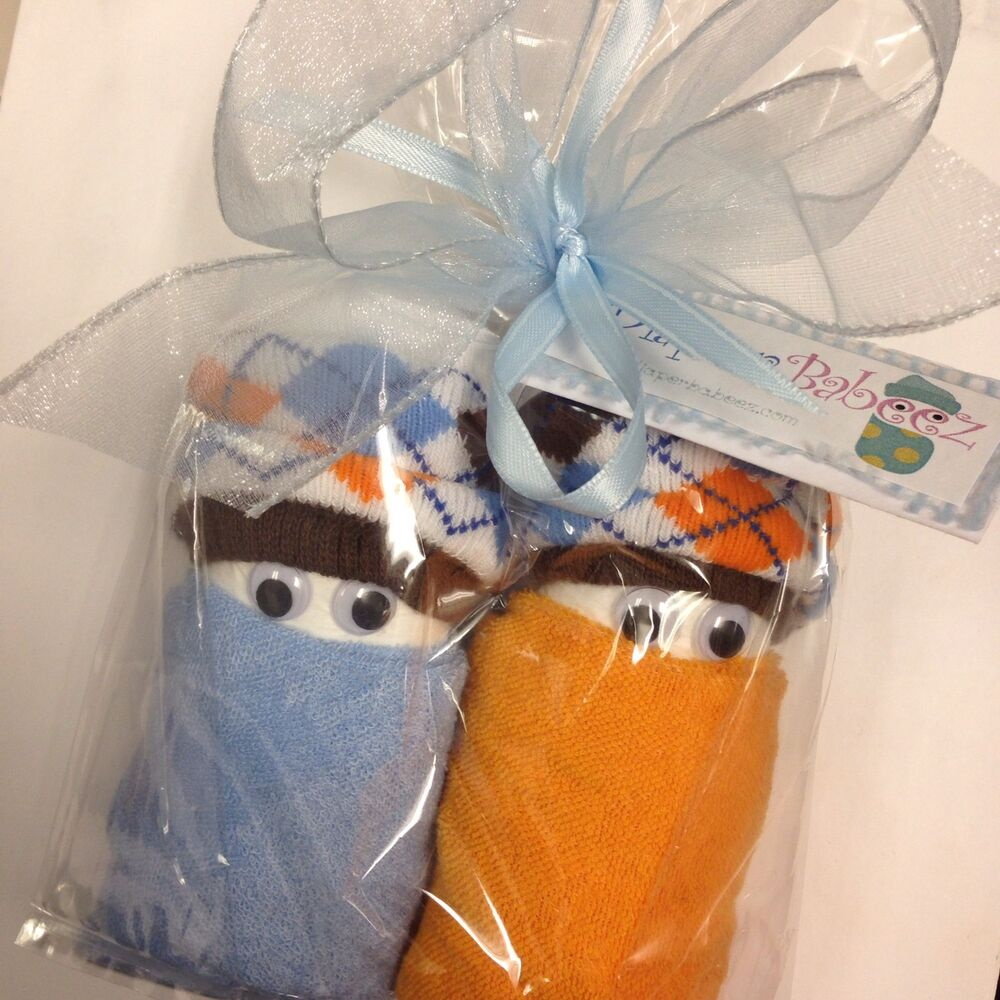 Swaddle Boy Diaper Babies In Cellophane Gift Bag Baby