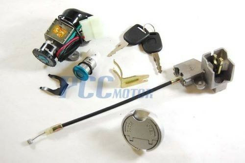 5 WIRE IGNITION KEY SWITCH LOCK SYSTEM    49CC    50CC    SCOOTER