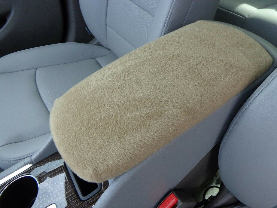 fits armrest covers for center console center console cover u2 tan ebay. Black Bedroom Furniture Sets. Home Design Ideas
