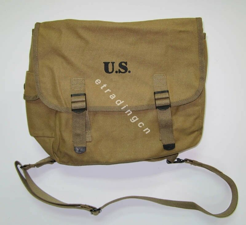 New Wwii Us Army M1936 M36 Musette Field Bag Backpack Haversack Travelling Bag Ebay