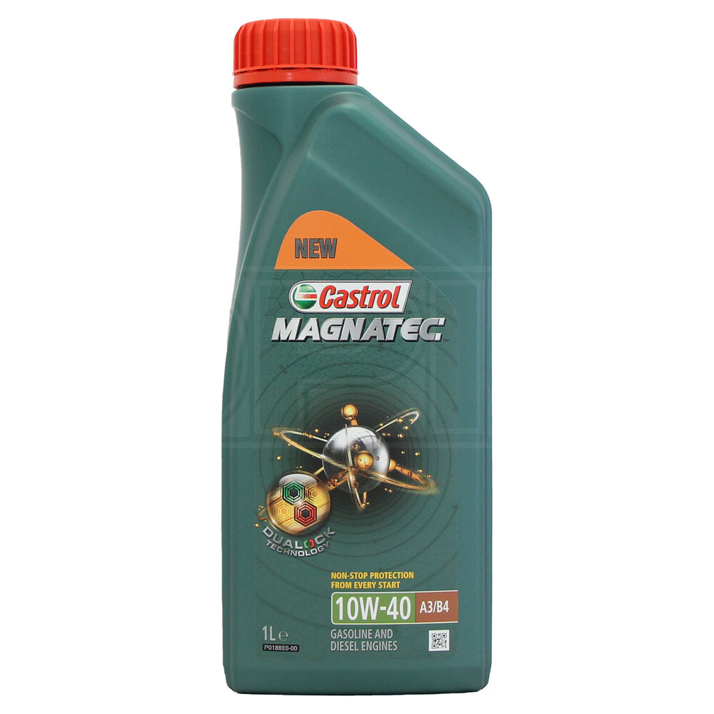 castrol magnatec 10w 40 part synthetic engine oil acea a3. Black Bedroom Furniture Sets. Home Design Ideas
