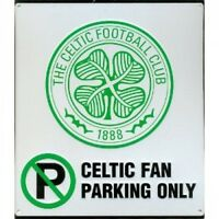 Celtic Fc Football No Parking Sign Official Board