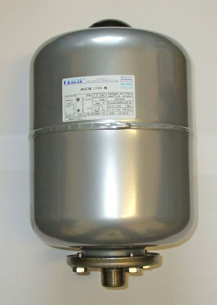 Accumulator expansion tank suitable for potable drinking for Potable water