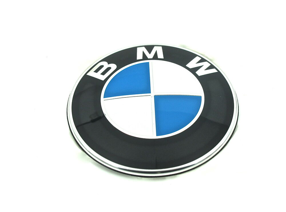 Genuine New Bmw Bonnet Badge Hood Logo Emblem 4 Series F32