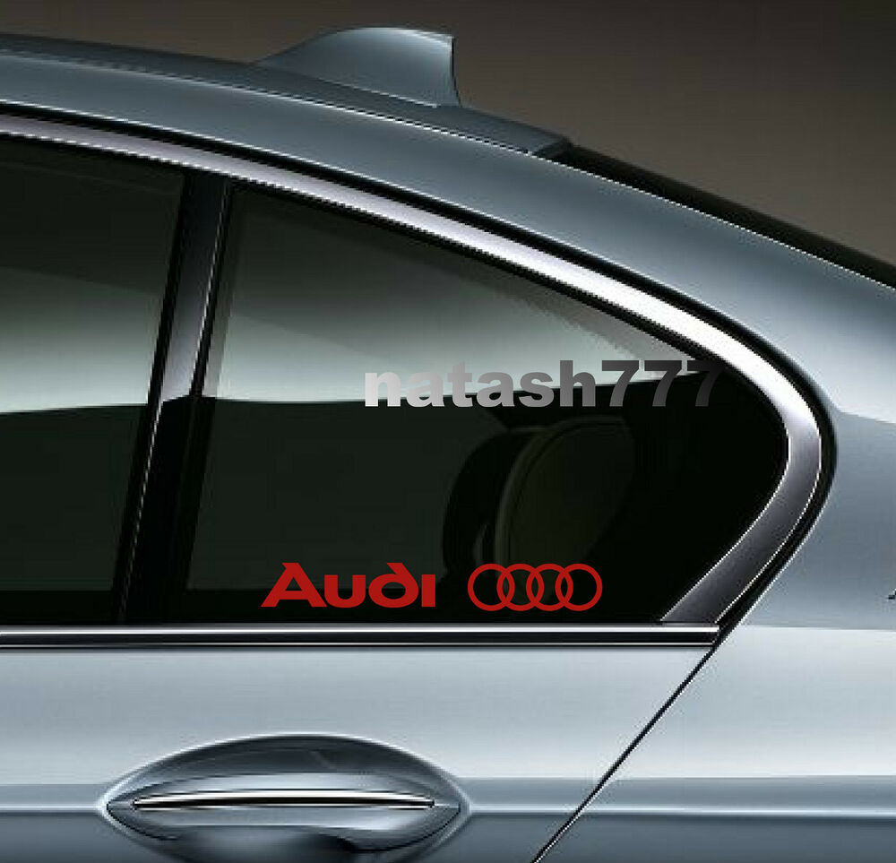 audi a3 a4 a5 a6 rs4 tt s line racing decal sticker. Black Bedroom Furniture Sets. Home Design Ideas