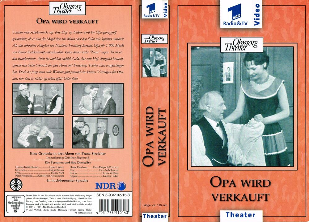 ohnsorg theater dvds