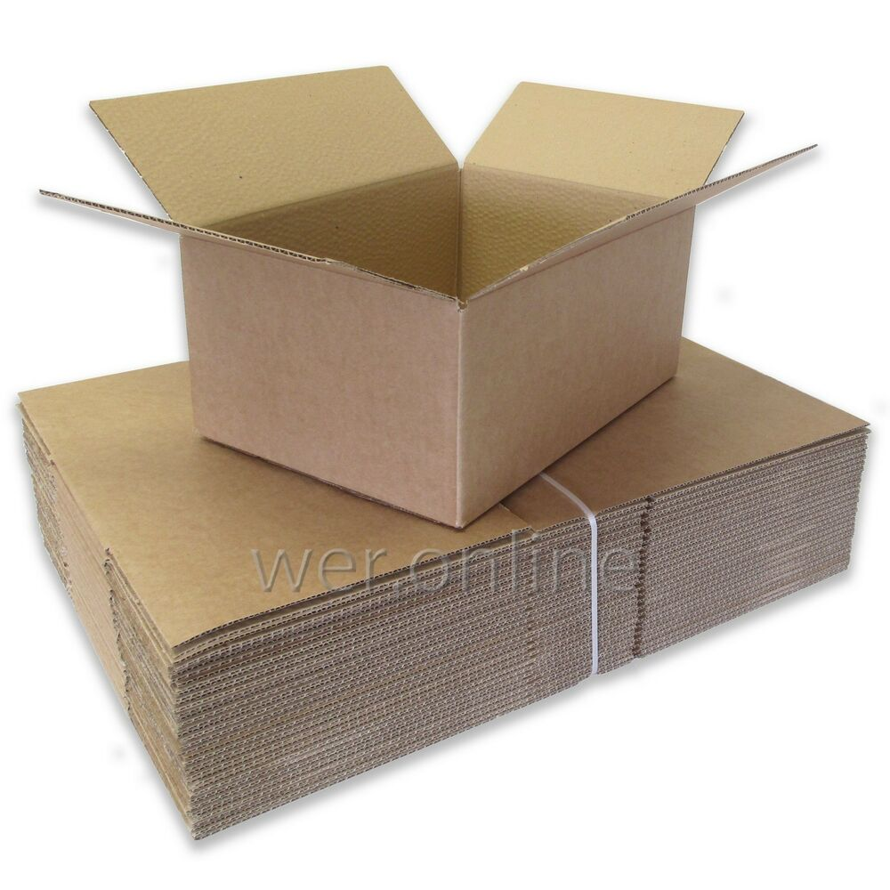 Variety Of Royal Mail Small Parcel Sized Cardboard Postal