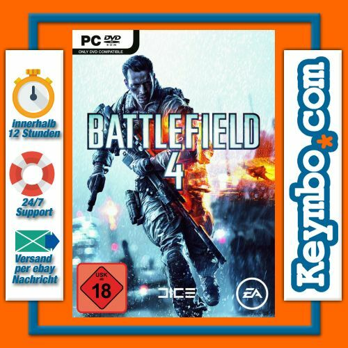 battlefield 4 bf4 bf 4 cd key code serial ea origin download game gamekey pc neu ebay. Black Bedroom Furniture Sets. Home Design Ideas